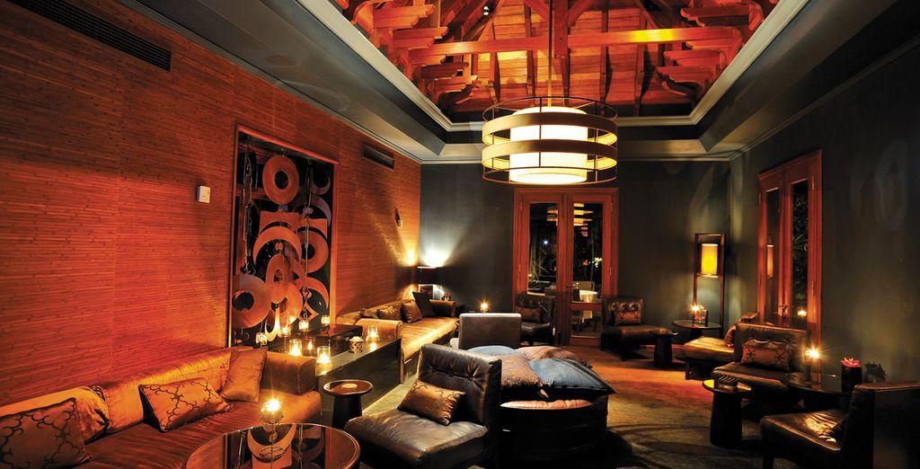 In de Cilantro Lounge geniet u van een rustige sfeer