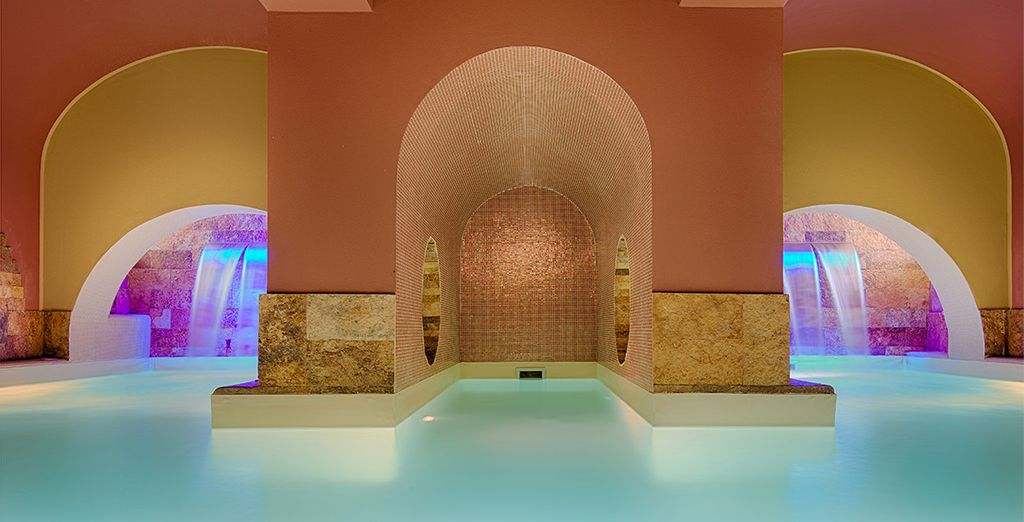 Kom helemaal tot rust in de luxueuze spa