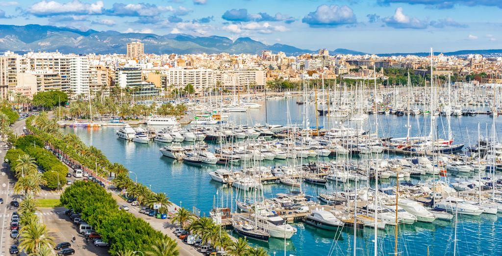 Kom naar Palma de Mallorca