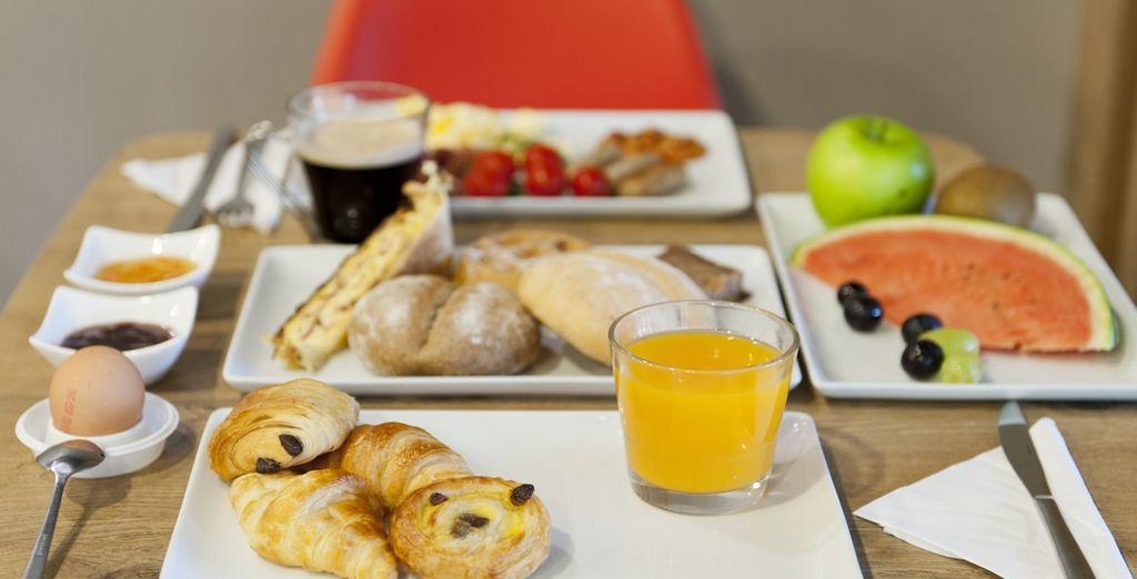 Geniet iedere dag van een heerlijk inbegrepen ontbijt