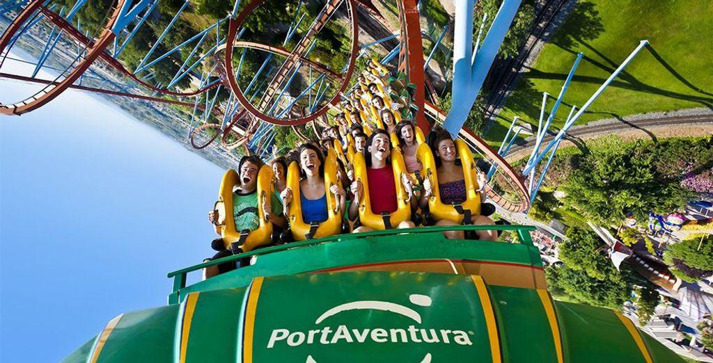 Trek er op uit en bezoek het bekende themapark Port Aventura