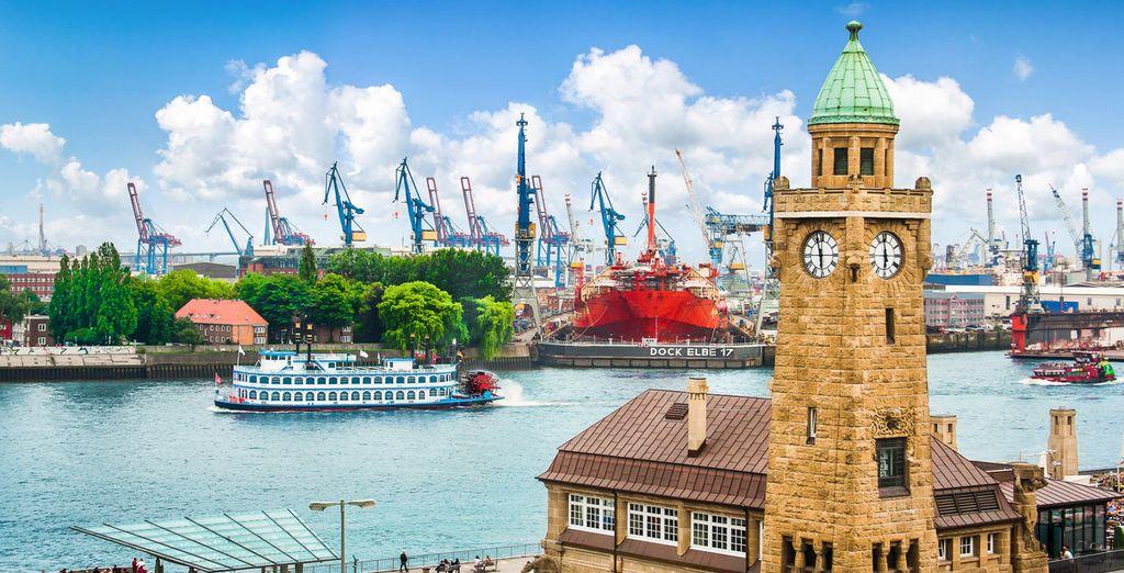 Welkom in het mooie Hamburg!