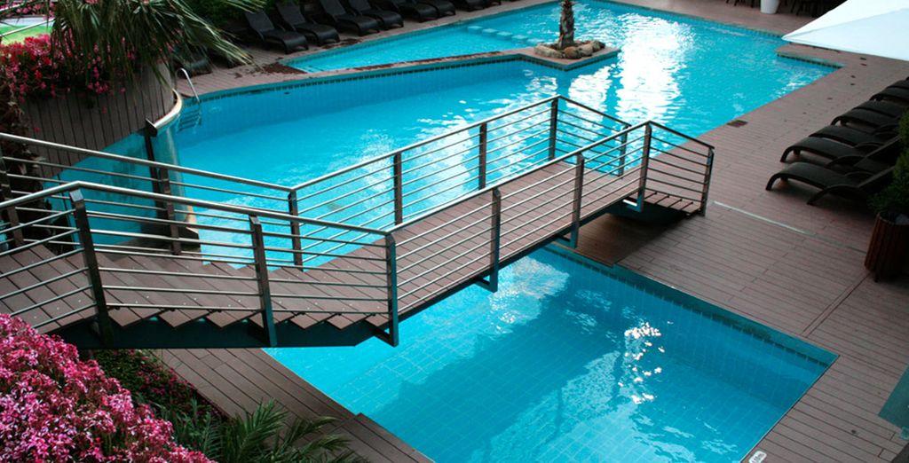 Ontdek het fantastische zwembad