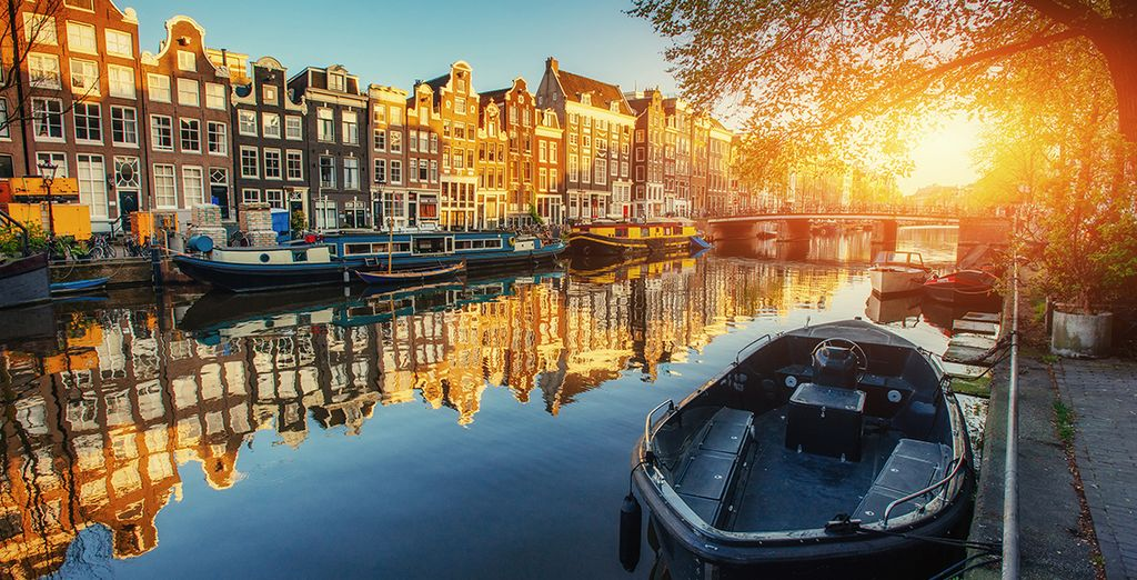 Verken de Nederlandse hoofdstad vanop de bekende grachten