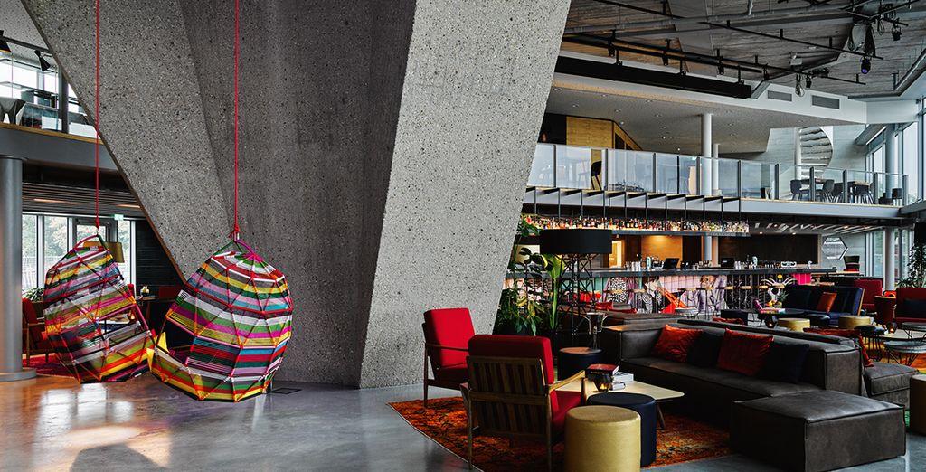 Welkom in het prachtige design Sir Adam Hotel