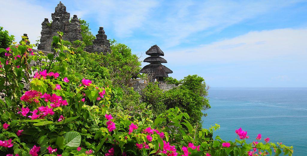 In een land van tempels, spiritualiteit en de zee