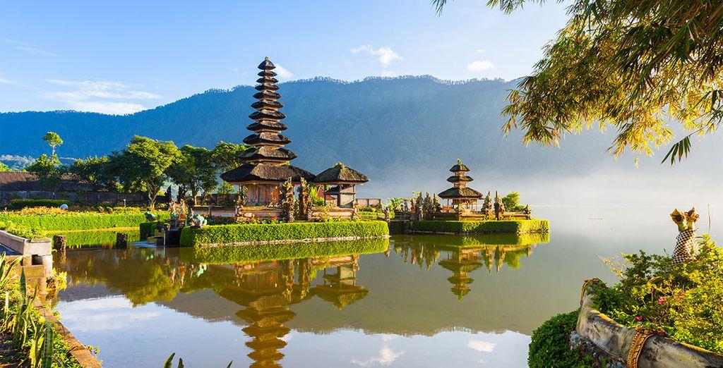 Dan moet u op het schitterende eiland Bali zijn