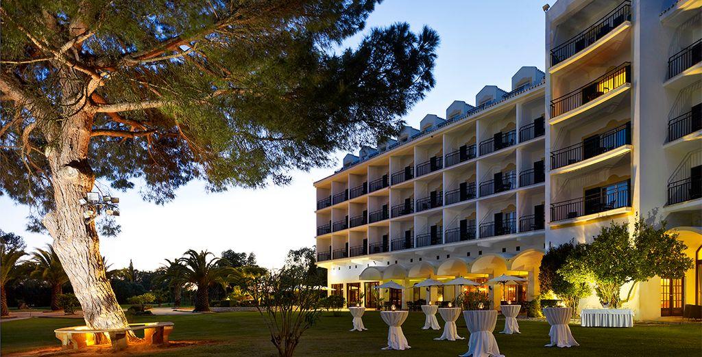 Op een paradijselijke locatie in de Algarve
