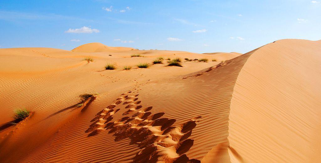 Om de charmes van deze stad te ontdekken die gebouwd is in de woestijn!