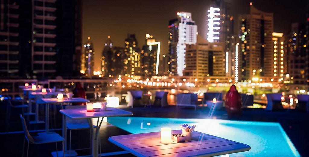 In het Intercontinental Dubai Marina 5*hotel