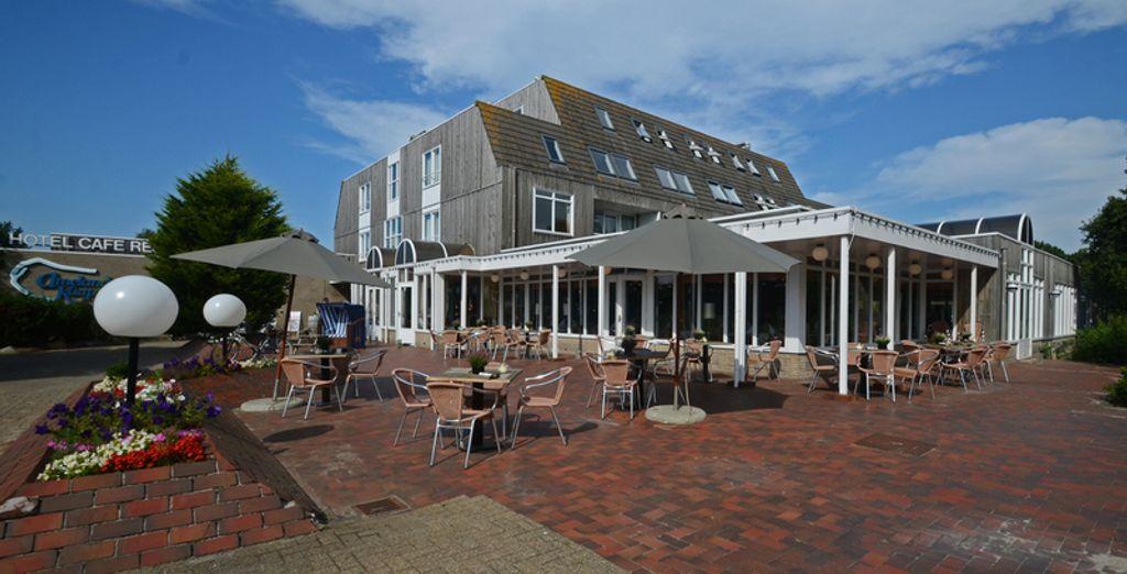 Welkom bij het Fletcher Hotel Amelander Kaap 4*