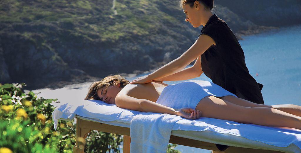 Geniet van een massage...