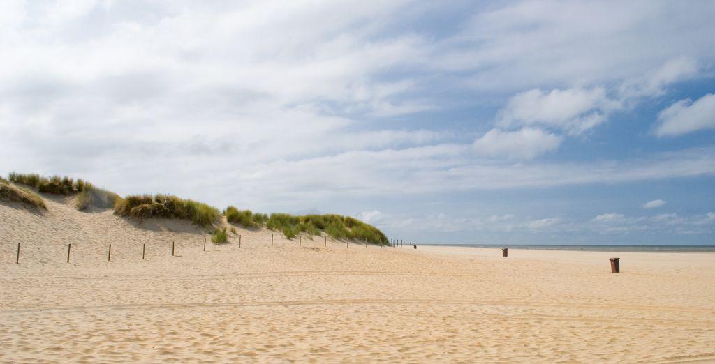 Heerlijk uitwaaien aan het strand