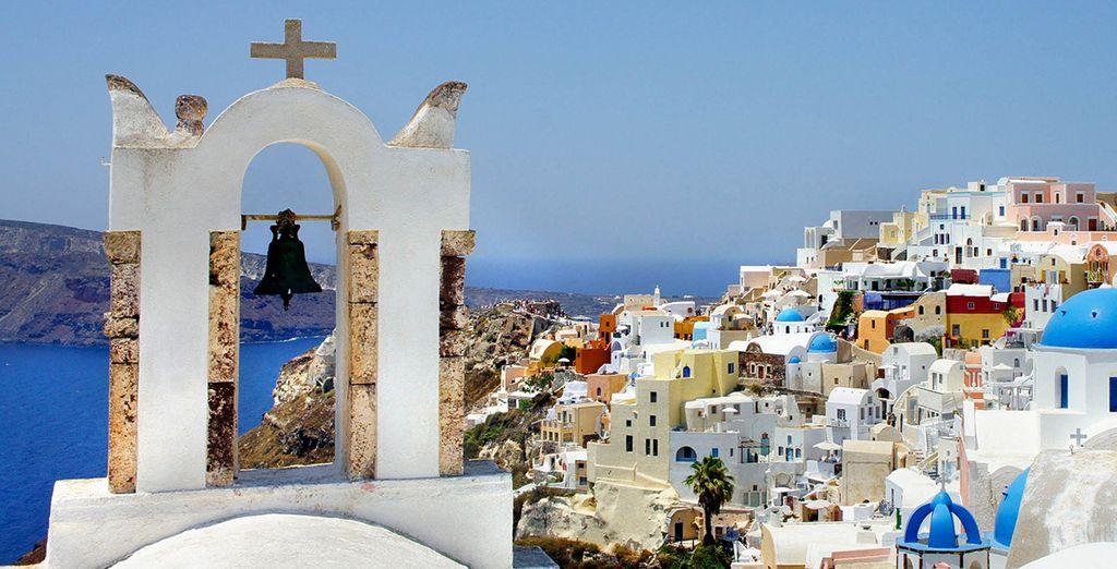 Ontdek het eiland Santorini