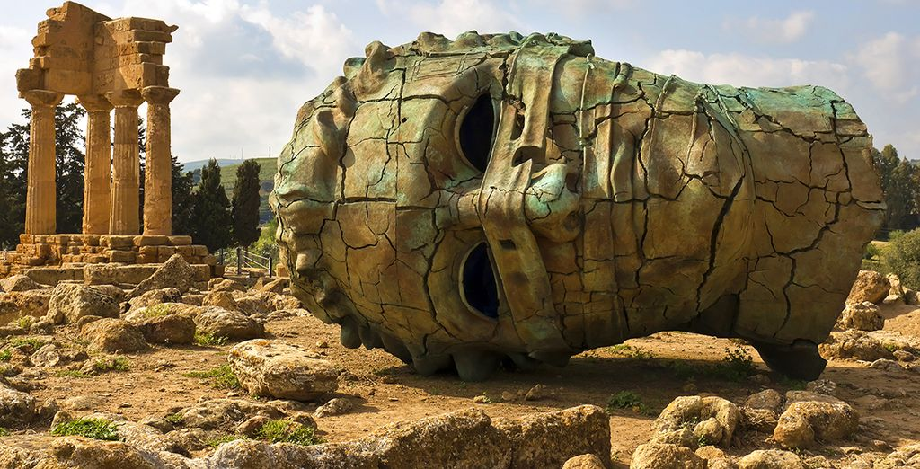 De ruïnes van Agrigente