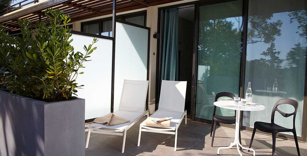 Met een gezellig terras of balkon om van de zon te genieten