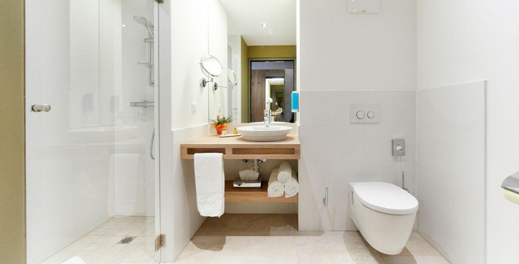 De badkamer; modern en verfijnd
