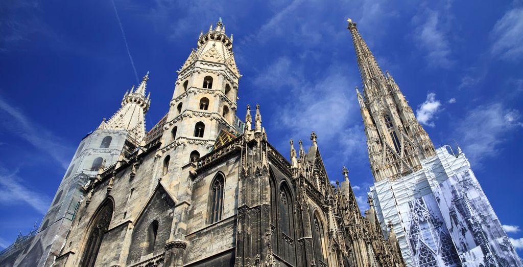 De indrukwekkende St. Stephen's Cathedral