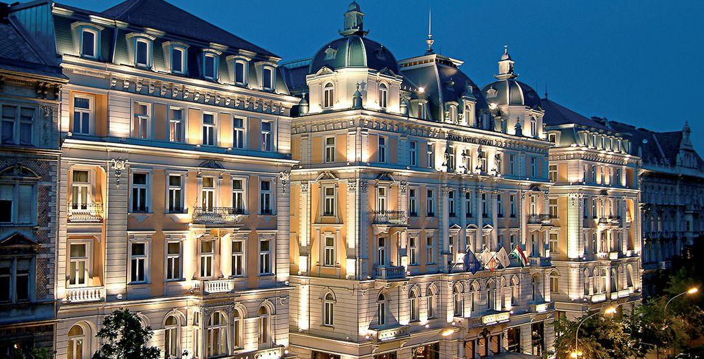 Welkom in Corinthia Hotel Budapest 5*!