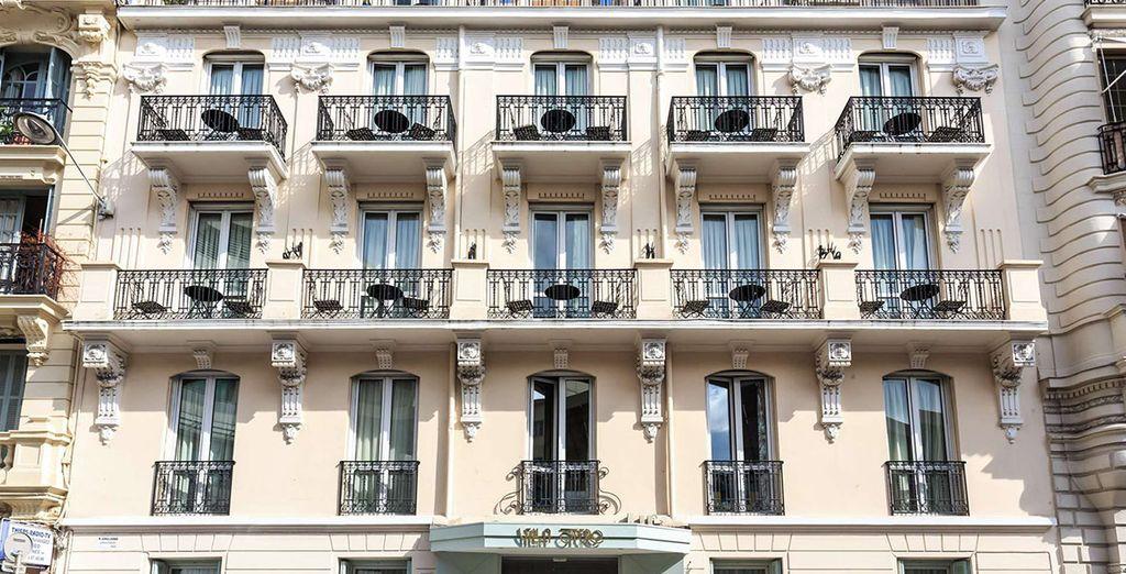 Verblijf in een Retro en Intiem Belle Epoque Boutique hotel in het Carre d'Or
