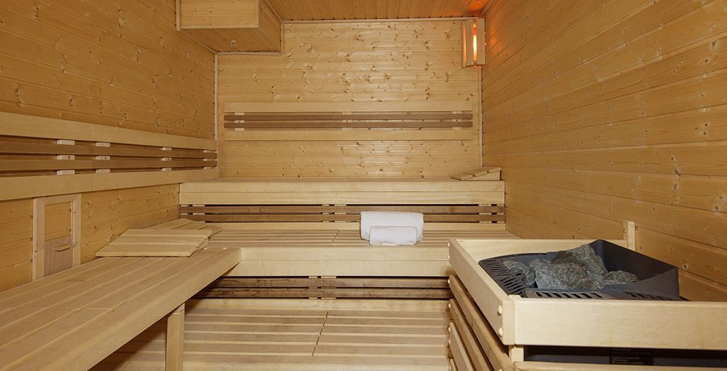 Ontspan in de sauna