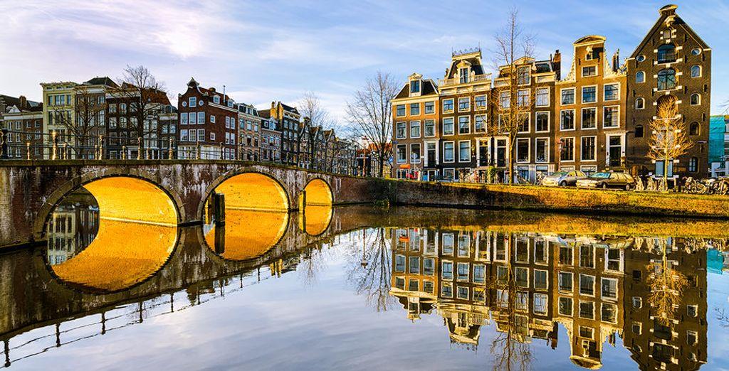 In het mooie Amsterdam