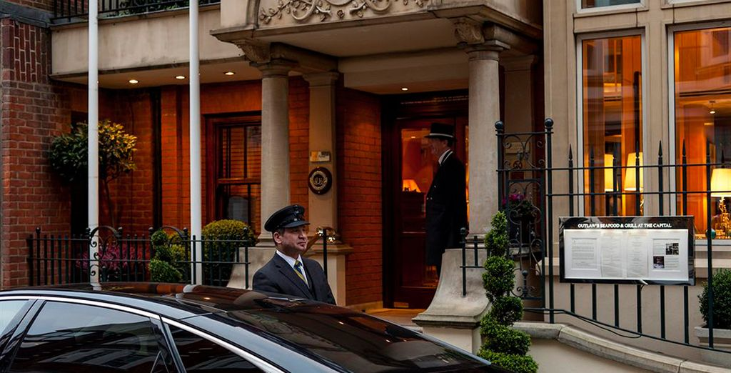 Een luxe 5-sterren boetiekhotel in het centrum van Londen