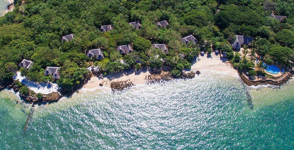 Welkom bij de Fumba Beach Lodge 4*