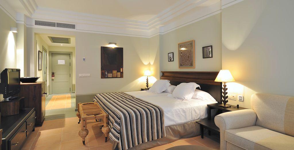 Rust uit in uw ruime en comfortabele kamer