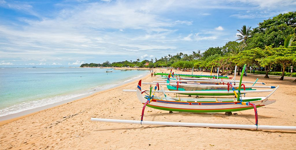 Daarna gaat u richting de stranden van Nusa Dua