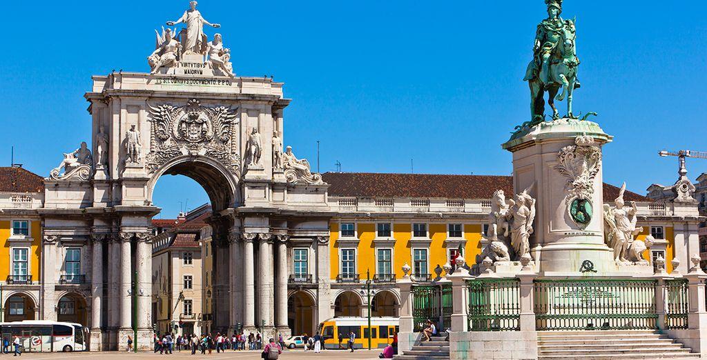 In het mooie Lissabon!