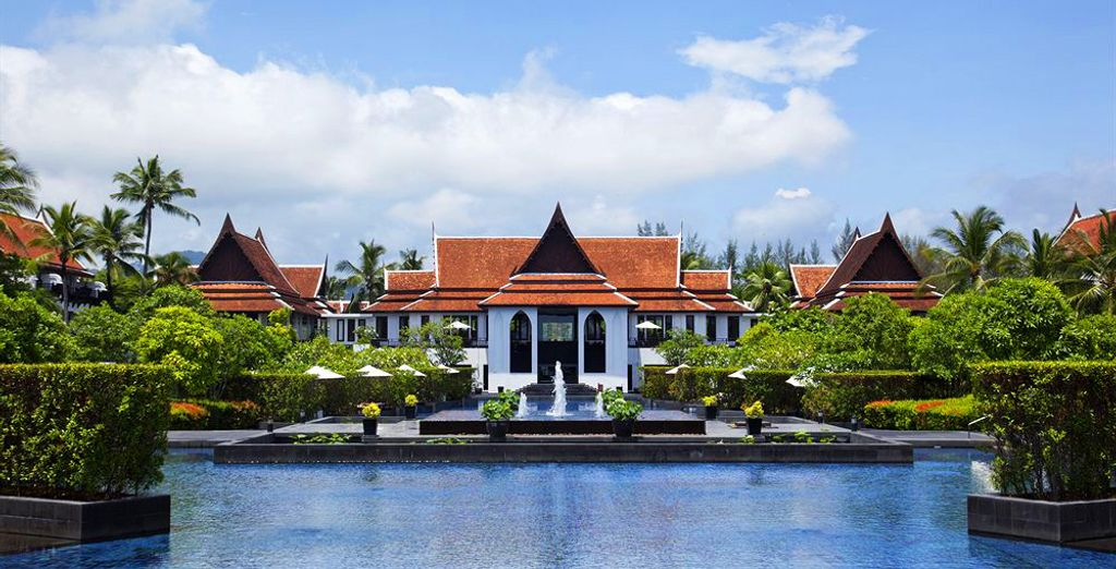 In het JW Marriott Khao Lak Resort & Spa 5*