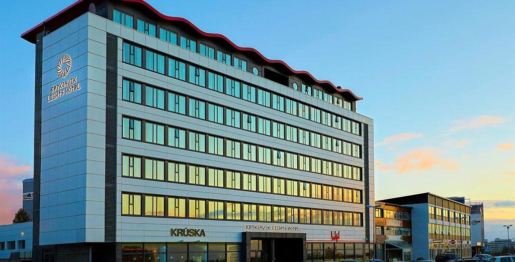 Het Reykjavik Lights Hotel is uw uitvalsbasis