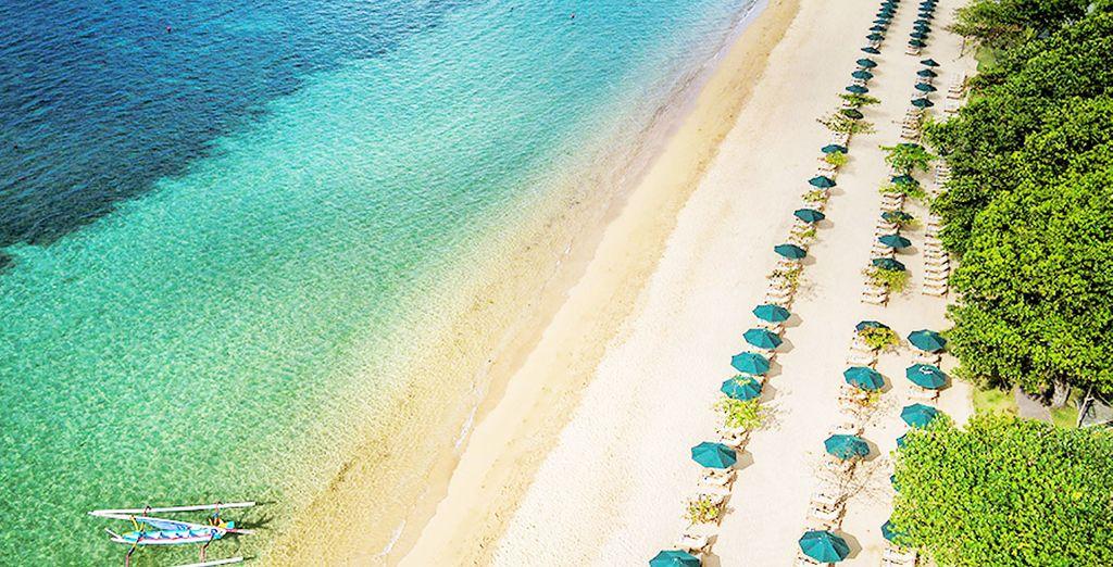Een charmant 5* hotel in de buurt van het strand van Sanur