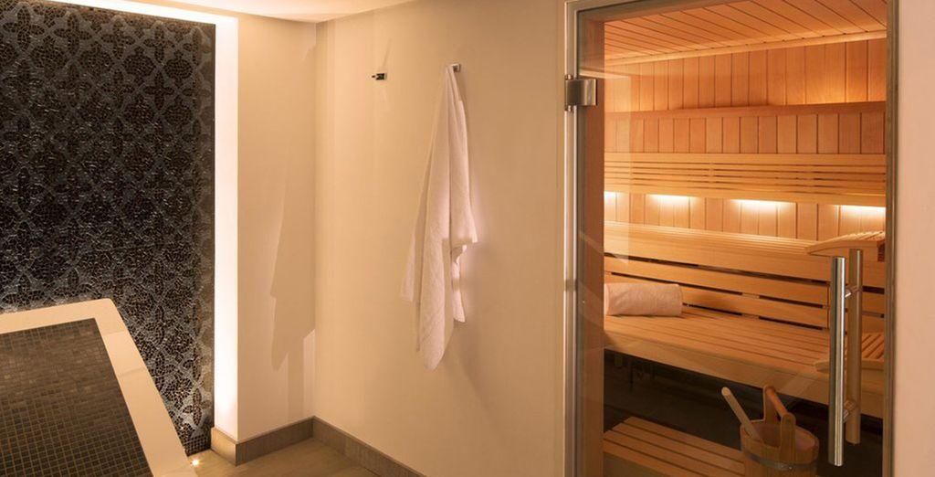 Hier vindt u een state of the art sauna