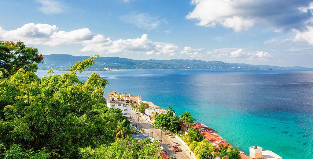 In het hart van de prachtige omgeving van Montego Bay