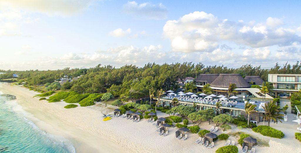 Op het geweldige eiland Mauritius
