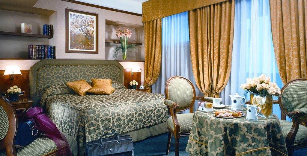 Verblijf in een comfortabele Superior kamer