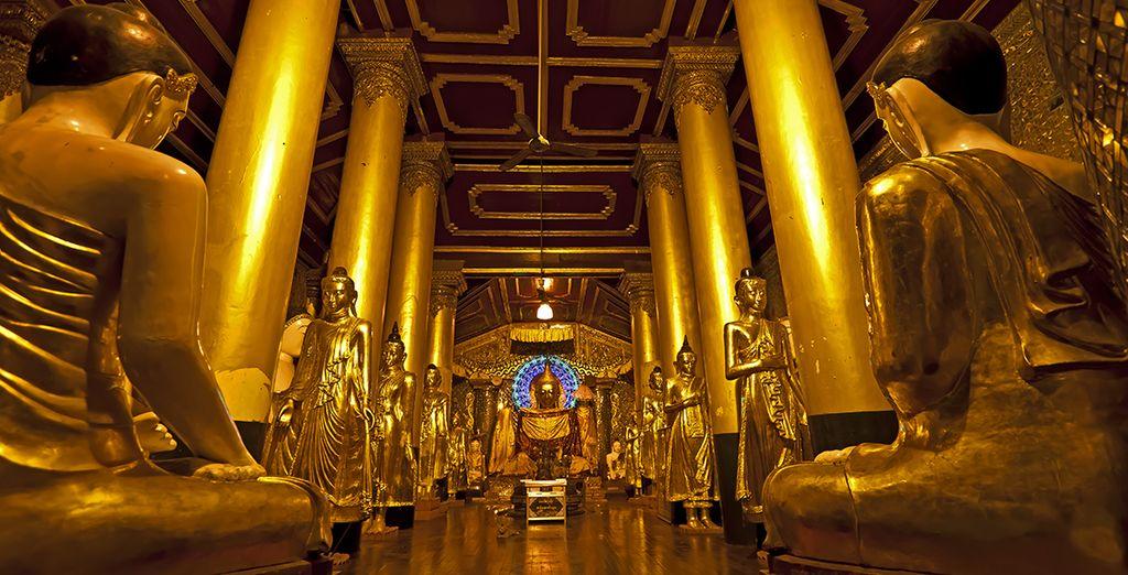 Bezoek Yangon en zijn indrukwekkende koloniale gebouwen