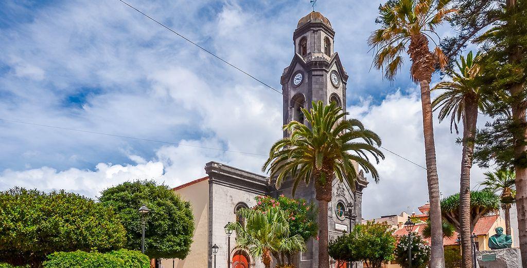 Het hotel is gelegen in Puerto de la Cruz