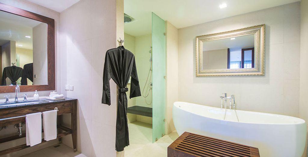 En een elegante badkamer