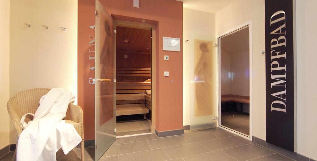 Geniet van de sauna