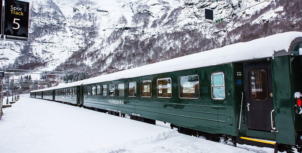 Maak een ritje op de bekende Flam Railway