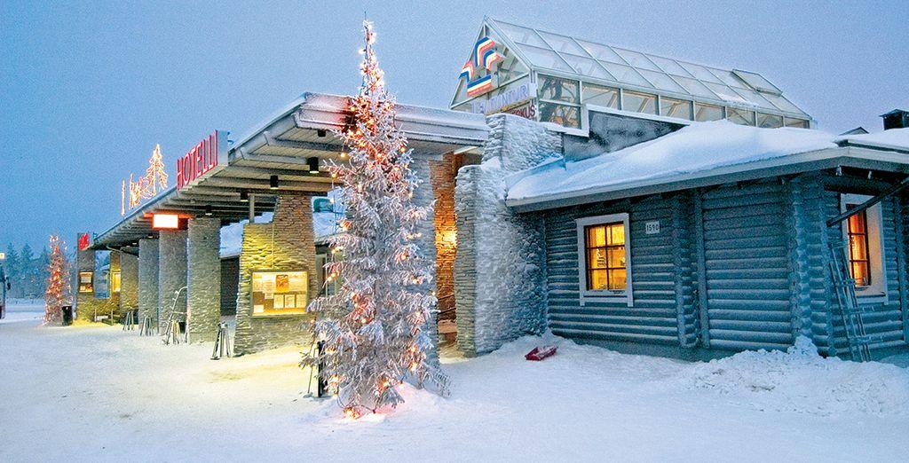 We nemen u mee naar het fantastische Levi Hotel Spa 4*
