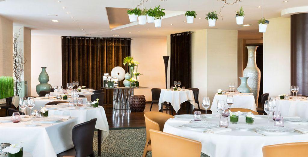 In het stijlvolle Restaurant Les Hauts de Lille