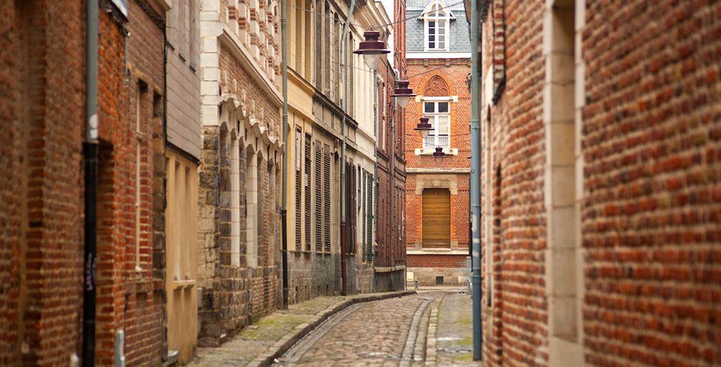 Slenter door de charmante straatjes van de oude stad