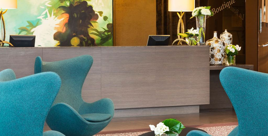 Welkom in het moderne Hotel Barrière Lille, een plek met een eigentijds en stijlvol design