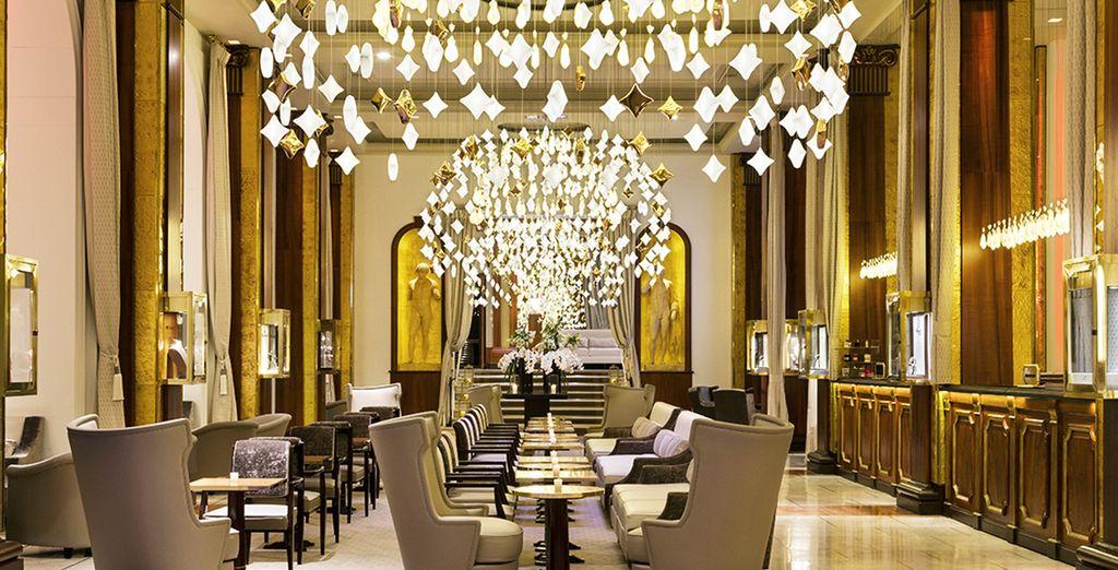 In het luxe hotel Barrière Le Majestic 5*