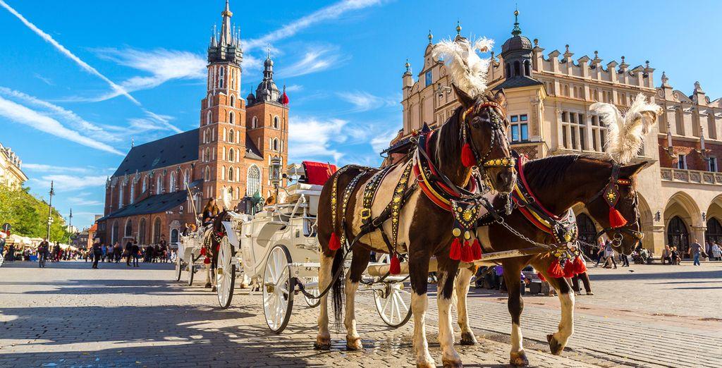 Kom naar de culturele hoofdstad van Polen!