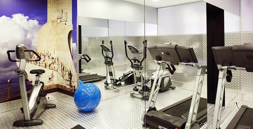Behoud uw vorm in de fitnesszaal